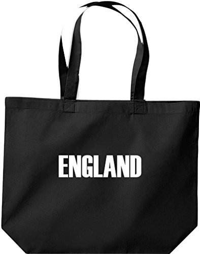 große Bolsa de compra, Inglaterra Land PAÍSES Fútbol negro
