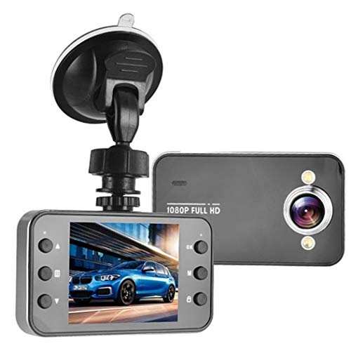 (Breven 2.2-inch TFT Multi-Function HD Driving Recorder,K6000 Super Wide-Angle Night Vision,90 Degrees 3 Million Pixels,9 Optional Languages)