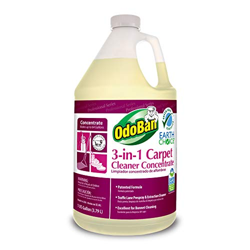 OdoBan Professional Cleaning 3-in-1 Carpet Cleaner Concentrate, 1 Gallon