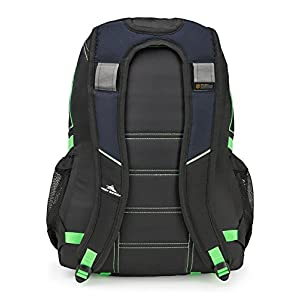 High Sierra Loop Backpack, Midnight Blue/Black/Lime
