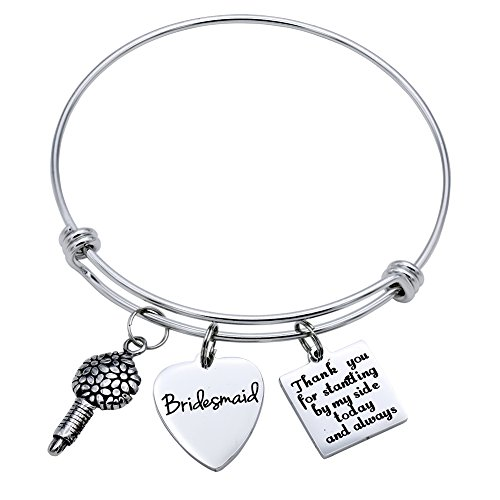 - Melix HOME Thank you for standing by my side today and always Bridesmaid (Grey)