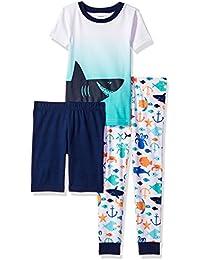 Boys' 3-Piece Cotton Pajamas