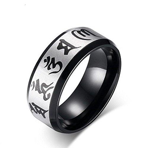 Bague de mots K Mega bijoux six hommes KR2284