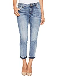 KUT from the Kloth Womens Petite Reese Ankle Straight Leg...