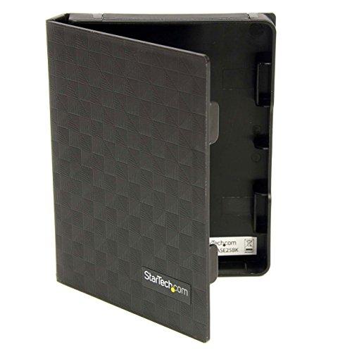 StarTech.com 2.5in Anti-Static Hard Drive Protector Case - Black (3pk) - 2.5 HDD protector black - 2.5 HDD protector