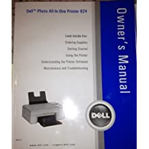 Dell Photo All-in-one Printer 924 Owner's Manual
