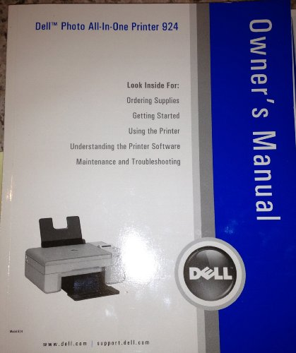 Dell Photo All-in-one Printer 924 Owner's ()