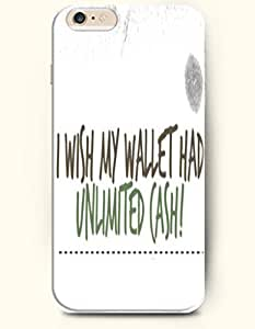 diy phone caseiPhone Case, SevenArc iPhone 6 (4.7) Hard Case **NEW** Case with the Design of I WISH MY WALLET HAD UNLIMITED CASH...diy phone case