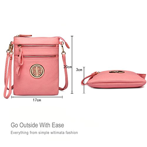 1417 Crossbody Miss Women for Fashion Girls Lulu Pink Pouch Leisure Bag Shoulder pAvUnqS