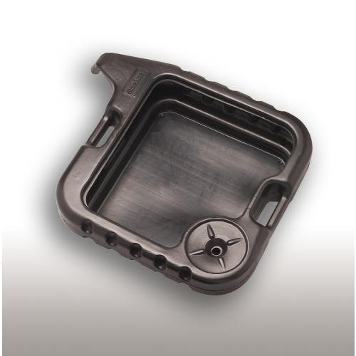 Scepter 06985 Black DP15 Square Drain Pan - 20 Quart Capacity