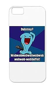 TPU Dubstep Pokemon For Iphone 5c Cartoon Funny Dubstep Hd Wob Skrilex Navy Anti-drop Case Cover