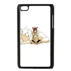 iPod Touch 4 Case Black Princess Mononoke JSK865991