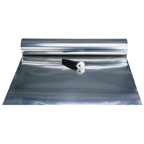 SHOPAID 321 Annealed Stainless Steel Tool Wrap - Length: 50' Thickness: .002'' Width: 12'' by Shop Aid