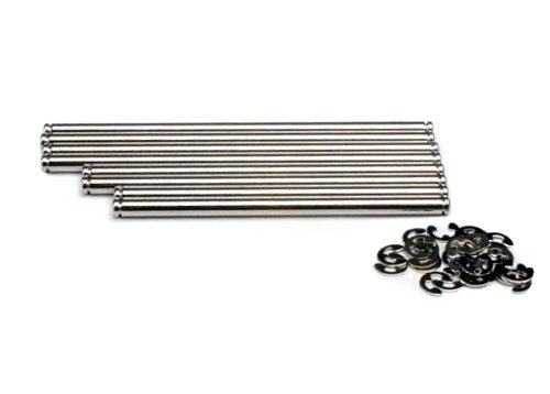 Suspension Pin Set Steel - Traxxas 4939X Stainless Steel Suspension Pin Set for T-Maxx