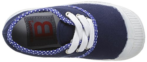 Bensimon Tennis Colorpois - Primeros Pasos de canvas Bebé - unisex azul - Bleu (Marine 516)