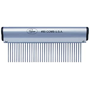 Resco Ergonomic Dog, Horse, Cat, Pet Grooming Comb 1