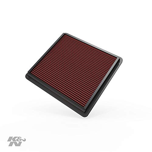 K&N engine air filter, washable and reusable:  2005-2010 Ford Mustang and Mustang GT 33-2298