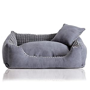 Amazon.com: Colorfulhouse Corn Kernels Suede Dog Bed