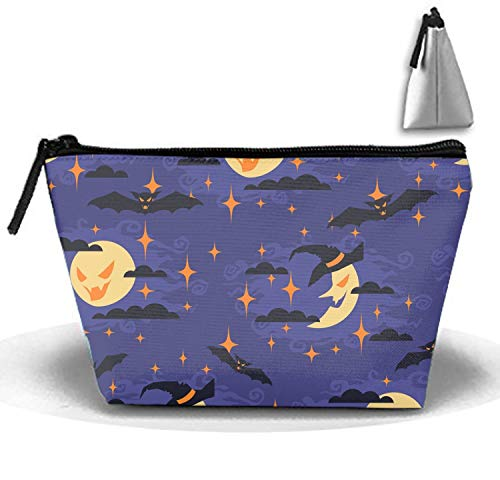 Good Night Halloween Clutch Bag Travel Cosmetic Bags Portable Makeup Organizer ()