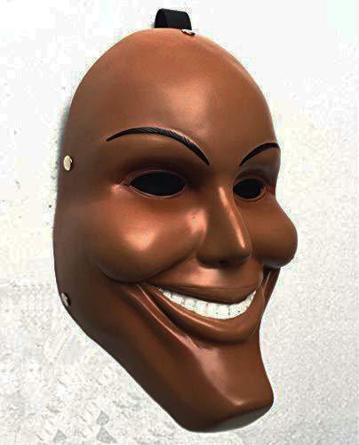 Gmasking Resin James Horror Killer Cosplay Male Mask Replica+Gmask Keychain]()