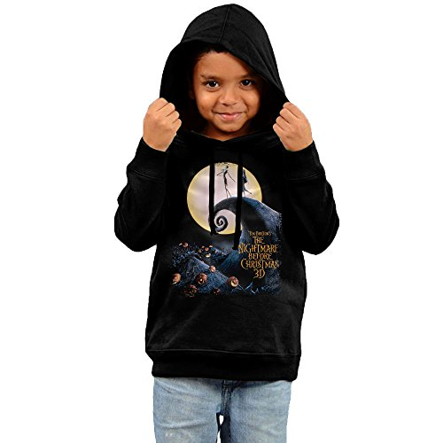 The Nightmare Before Christmas Movie Poster Toddler Hooded Sweatshirt
