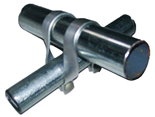 1 5/8'' x 1 5/8'' Cross Connectors - Purlin Clamps for Greenhouses - Heavy Duty Steel - Set of 12 by Growers Solution by Stephens Pipe (Image #2)