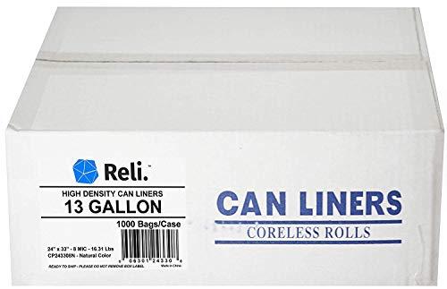 13 gallon commercial trash bags - 7