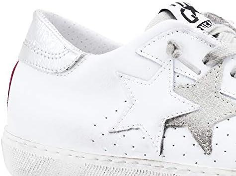 Star 2 2SD2606 Chaussures Femme (Blanc-Fuchsia) - Blanc - Blanc, 39 EU EU