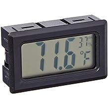 Avianweb Digital Thermo Hygrometer, Mini, Black