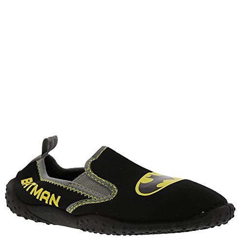 DC Comics Batman Slip On Water Shoe Black (Little Kid, Size 13/1) by DC Comics (Image #1)