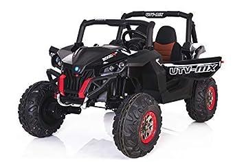 RIRICAR El Coche eléctrico de los niños Nuevo RSX Buggy 2 x 12V Negro - 2.4Ghz, ...