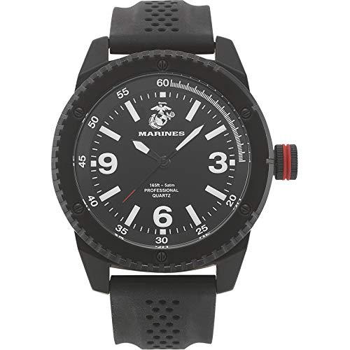 - Wrist Armor Men's 37100001 U.S. Marine Corps C20 Analog Display Japanese Quartz Black Watch