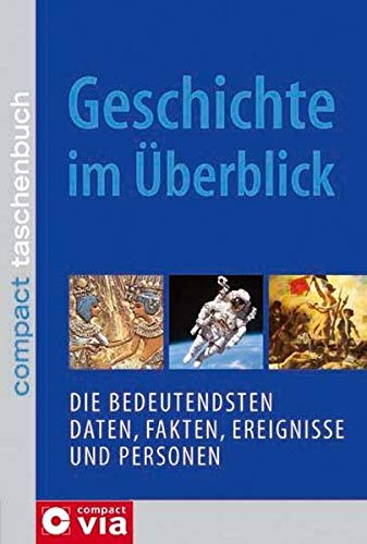 Geschichte im Überblick: Die bedeutendsten Daten, Fakten, Ereignisse und Personen (Compact Taschenbuch)
