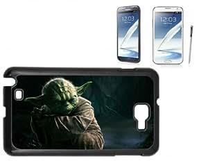 Samsung Galaxy Note 2 Hard Case with Printed Design Yoda