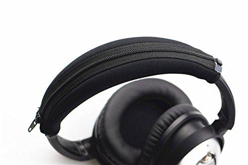Replacement Head Band Headband with Zipper Cushion Pads for Bose QuietComfort QC15 QC25 QC35 QC2 Headphone