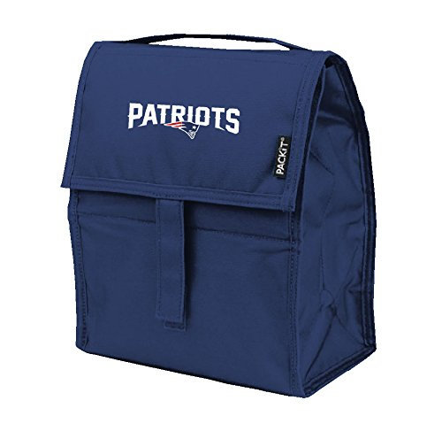 - Kolder NFL New England Patriots Freezable Lunch Bag, Large, Blue