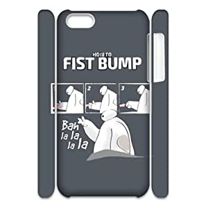 HXYHTY Baymax 2 Phone 3D Case For Iphone 5C [Pattern-1]