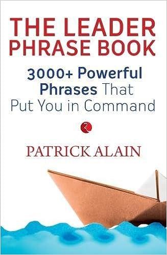 The Leader Phrase Book