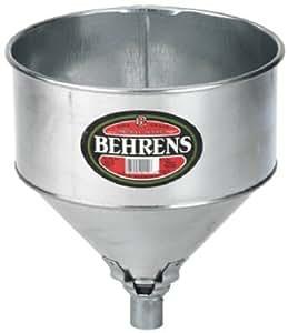 Behrens #TF 123 Galvanized Tractor Funnel