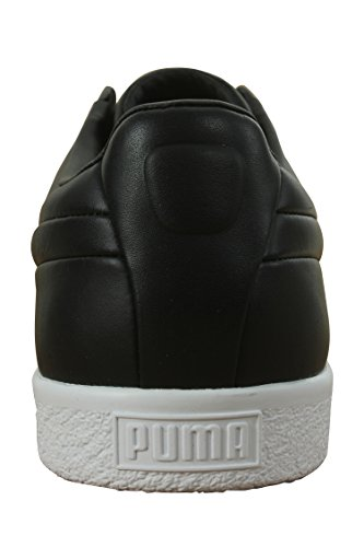 Puma Clyde Fashion Heren Zwart Synthetisch Veterschoenen Sneakers Schoenen Puma Zwart / Puma Zwart