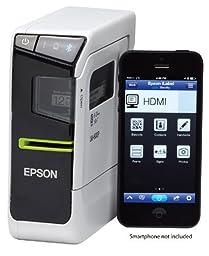 Epson LabelWorks LW-600P App-enabled, Portable Label Printer with Bonus 1\