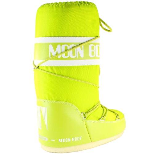 Bottes neige Vert originales Boot Tecnica Nylon Femmes Citron Moon de xngq10X