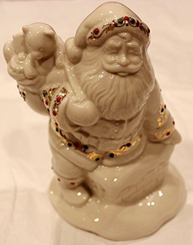 Antiquity Lenox Accent (Lenox China Jewels Collection SANTAS VISIT Figure 4th in Series)