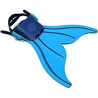 Lexbo Swim Fin Children Size Adjustable Mermaid Diving...