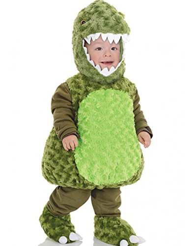 [Underwraps Baby's T-Rex Belly, Green, Large] (Trex Baby Costumes)