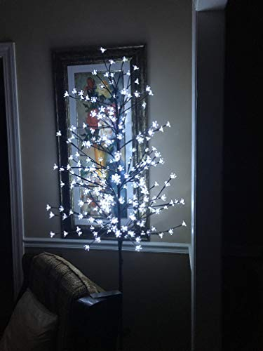 Fashionlite 6.5-Feet 240 LED Cherry Blossom Flower Tree Light Decoration(Warm White)
