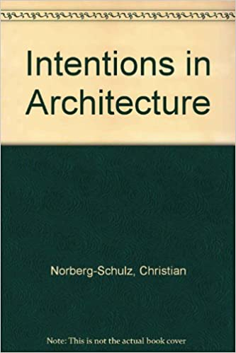Book Intentions in Architecture