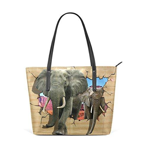 tout À Wo Elefante Pour Impression Fourre Deyya Femme Top Bandoulière Sac Multicolor1 Sacs Handle Main OvYBSq1w