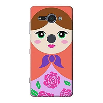 Russian Matryoshka Doll Etui Coque Housse pour Sony Xperia XZ2 Compact