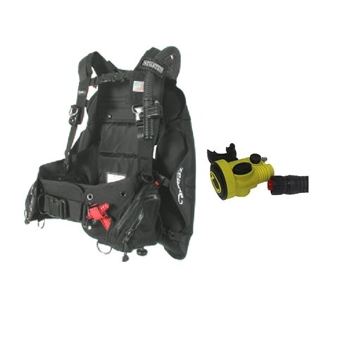 Zeagle Stiletto With Octo-Z Scuba Buoyancy Compensators-SM